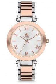 B.H.Polo Pembe Altın Kordonlu Kadın Saati