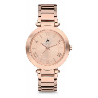 B.H Polo Rose Gold Çelik Kordonlu Kadın Saati