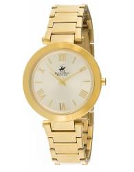 B.H. Polo Altın Renkli Çelik Kordonlu Kadın Saati