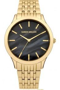KAREN MILLEN Sarı Altın Kaplama Kadın Saati